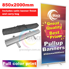 Pull Up Banner 850X2000mm with full color print