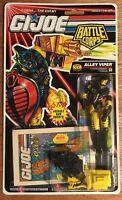 G I Joe Alley Viper 1992 Battle Corps V2 Yellow Black Mini Marvel Comic MOC RARE