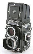 Rollei Rolleiflex 3.5F type 3 vintage 6x6 TLR camera, lens Zeiss Planar 3.5/75mm