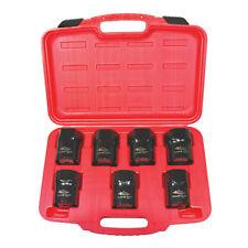 """K Tool 71920 Wheel Bearing Locknut Socket Set, 7 Piece, 1/2"""" Drive, in Case"""