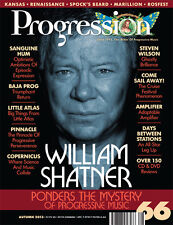PROGRESSION MAG #66 (Fall/Winter 2013-'14) Shatner, Kansas, Marillion, S. Wilson