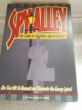Unusual Game Spy Alley, Game of Suspense & Intrigue, ages 8+, Excellent