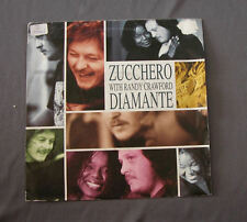 """Vinilo SG 7"""" 45 rpm ZUCCHER & RANDY CRAWFORD - DIAMANTE -  Record"""