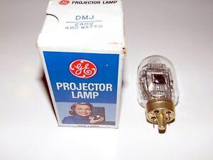 GE - DMJ - Projector Lamp - Projektor Lampe - 240V - 480 Watts - NOS