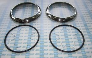 1947-1955 Chevrolet Headlamp Bezels Kit. Headlight Rings. OEM #5941285