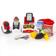Kids Supermarket Set Pretend & Play Cash Register Scanner Credit Card Machine