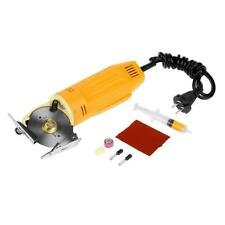 220V Portable Electric Round Knife Fabric Cutter Cloth Textile Cutting Machine