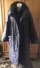 Gray Nylon LagenlooK Sanyo Carol Cohen With Lucite Toggle Buttons Size M/L MINT
