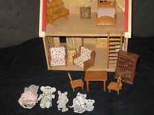 Calico Critters  Dollhouse Furniture Figures Accessories Huge Toy Lot #3
