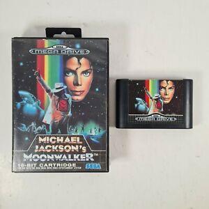 Michael Jackson Moonwalker Sega Mega Drive video game