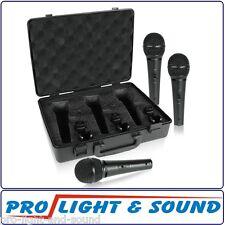 Behringer XM1800S 3 Cardioid Vocal Instrument Microphones