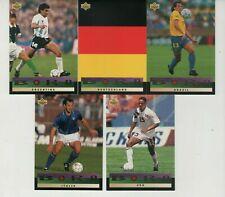 Rare!!! Upper Deck WC USA 94(93 Preview English/Spanish)/ Bora's Select (B1-B10)