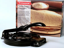 Typhoon Cast Aluminum Tortilla Press New in Box