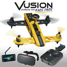 NEW Rise Vusion 250 Extreme Race Pack FPV 5.8GHz Quadcopter Drone Quad RTF