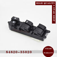 Power Window Switch Control 84820-35020 For Land Cruiser 80 Hilux Surf