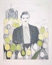 "Nobuko Itozu ""The Picture of Dorian Gray"" Original Etching S/N"