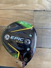 Used RH Callaway Epic Flash SZ 15* 3 Fwy Wood Tensei AV 75 Graphite Stiff S Flex