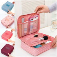 New Women Multifunction Travel Cosmetic Bag Makeup Case Pouch Toiletry Organizer
