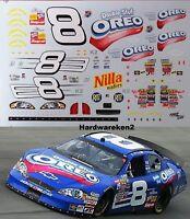 NASCAR DECAL # 8 OREO DOUBLE STUF 2006 BUSCH MONTE CARLO MARTIN TRUEX jr