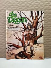 THE DRAGON vol 1 #2 Aug 1976 FANTASY GAMING MAGAZINE Dungeons & Dragons