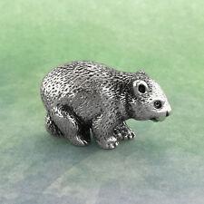 Wombat Australian Souvenir Micro Figurine Australiana Gift, Australian Made