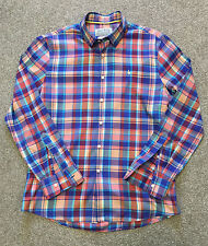 GORGEOUS JACK WILLS BOLD BRITISH CHECK LIGHT WEIGHT SHIRT L LARGE COST £75