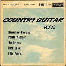 "HAWKSHAW HAWKINS + 4 ""COUNTRY GUITAR VOL. 12"" COUNTRY ROCK EP 1960 RCA 185"