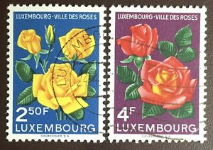 Luxembourg 1956 City Of Roses FU Never Hinged
