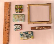 Shih Tzu Set of 6 Mini Magnets: Frame Name Plate (b)