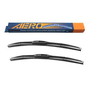 "AERO Hybrid 20"" + 20"" OEM Quality All-Season Windshield Wiper Blades (Set of 2)"