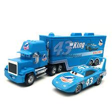 Disney Pixar Cars Strip Weathers The King Hauler Truck 1:55 Diecast Model Loose