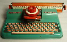 vintage Tippco Western Germany Standard Tin Tole childs  toy Typewriter