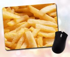 New listing Food ~ French Fries, Golden, Salty, Gift, Decor, Accessory ~ Vivid Mouse Pad
