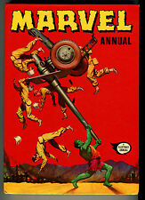 "1972 ""MARVEL"" UK Annual Spider-man Hulk Fantastic Four Conan Comic Hard Cover #1"