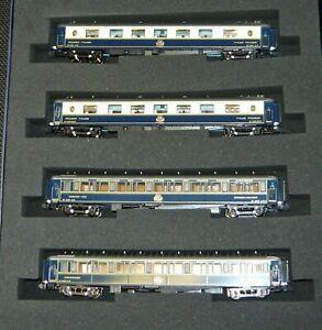 "KATO-Lemke K23218, 4tlg. Wagenset ""Riviera Express"" der CIWL, Spur N, NEU&OVP"