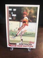 1982 Topps Baseball Card #305 Don Sutton