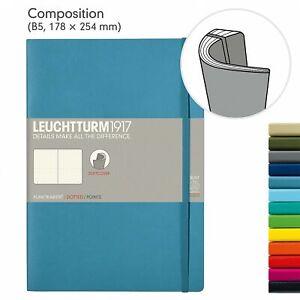 Leuchtturm 1917 Notizbuch B5 Softcover alle Farben blanko dotted liniert
