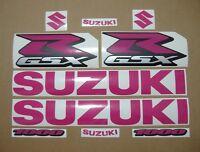 GSX-R 1000 hot pink decals stickers graphics kit set gixxer k1 k5 k7 k9 l1 l3 l5