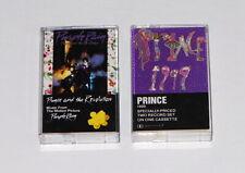 Prince 1999 & Purple Rain 1982 1984 Cassette Tape 4-23720 4-25110