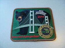 2014 MICHIGAN SUCCESSFUL DNR BEAR HUNTING PATCH - DEER - TURKEY - ELK