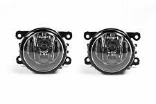 Porsche Macan 14-18 Front Fog Lights Lamps Pair Set With Bulbs OEM Valeo