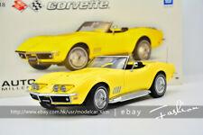 Autoart 1:18 Chevrolet CORVETTE 1969 yellow