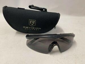 Schutzbrille REVISION SAWFLY BASIC Kit Schießbrille smoke Sonnenbrille AIRSOFT
