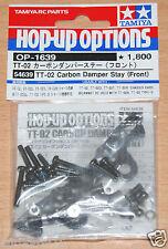 Tamiya 54639 TT-02 Carbon Damper Stay (Front) (TT02/TT02D/TT02R/TT02T) NIP