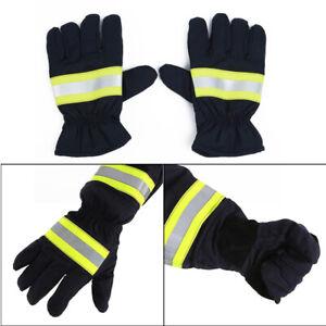 NEW Non-slip Anti-fire Gloves Heat Proof Gloves Firefighting Gloves