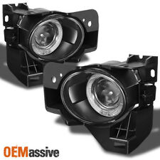 Fits 09-12 Maxima Halo Projector Fog Lights Lamp W/Bulb & Switch (Left+Right)