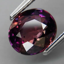 2.11Ct.RARE COLOR! Natural Purple Pink UNHEATED Sapphire Tanzania Good Luster!