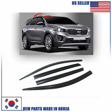 3M Tape Smoke Door Window Vent Visor Deflector 4pcs KIA SORENTO 2017-2018