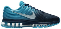 New Nike Air Max 2017 Men's Shoes in Binary Blue/Glacier Blue Colour Size 10