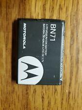 New listing Oem Motorola Bn71 Battery V860 Debut i856 Karma Qa1 Hint Qa30 Quantico W845